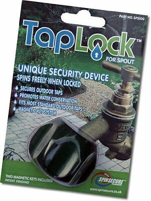 TapLock SpinSecure Outdoor Garden Tap Security Lock for Spout Water Saving