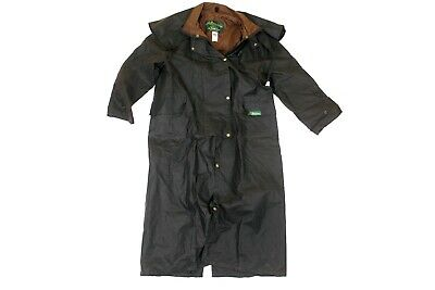 Traditional full-length Oilskin Riding Coat - made in Aust CHRISTMAS