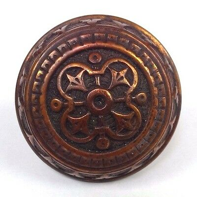 ~ Collectible Antique Entry Norwalk Bronze Doorknob Victorian Door Knob Hardware