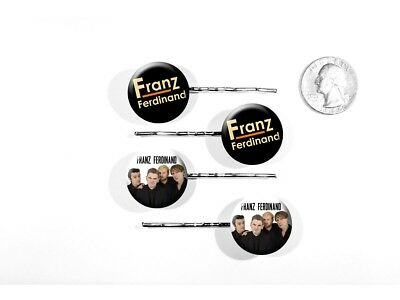 Franz Ferdinand Alternative Rock Band Take Me Out Set of 4 Bobby Pins