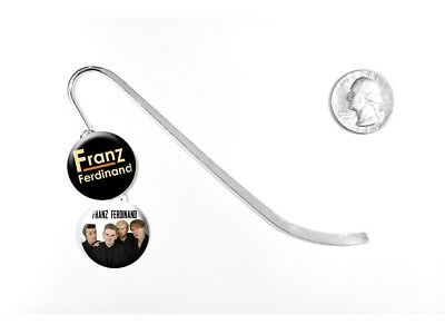 "Franz Ferdinand Alternative Rock Band Take Me Out 5"" Silver Bookmark"