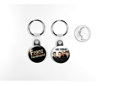 Franz Ferdinand Alternative Rock Band Take Me Out Set of 2 Key Chains