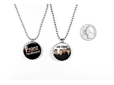 Franz Ferdinand Alternative Rock Band Take Me Out 2 Sided Necklace