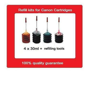 Refill kits for Canon PGI-670+CLI-671 CLI671 C,M,Y ink cartridges MG5760,MG6860