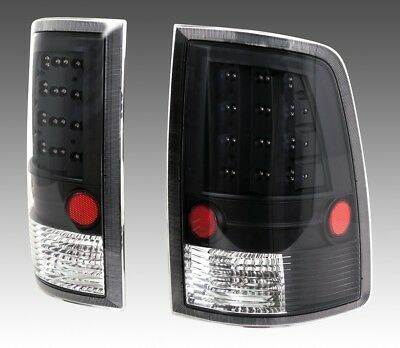 2x LED Rückleuchte Black / Klarglas Dodge Ram 1500 2500 3500 09- Style Tuning