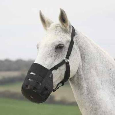 shires Nylon Grass Muzzle