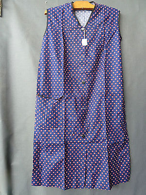 Ancienne robe vintage, ancienne robe tablier T 42 old french clothing