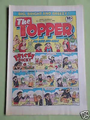 The Topper - Uk Comic - 27 Mar 1982 - # 1521 - Vg