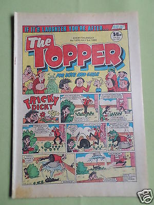 The Topper - Uk Comic - 3 July 1982  - # 1535 - Vg