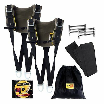 Lifting sling PRO LIFT - Heavy duty lifting straps up to 2500 lbs (450 kg)