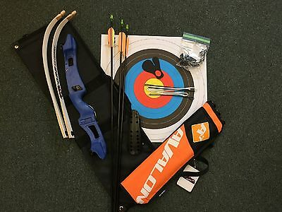 Core Triple Youth Starter Bow Kit (Right Hand, Blue Only)