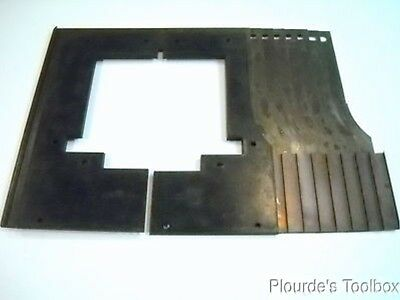 New Bando 3172-T040-1020 Cast Slide Seal Way Wiper with 8 Brackets