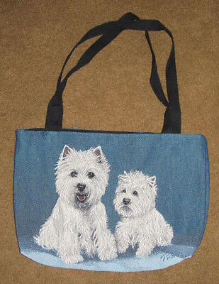 Westie ~ West Highland Terrier Tapestry Tote Bag