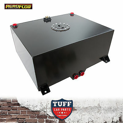Aeroflow 20 Gallon Black Fuel Cell with Sump, Foam & Sender AF85-2200ASBLK New