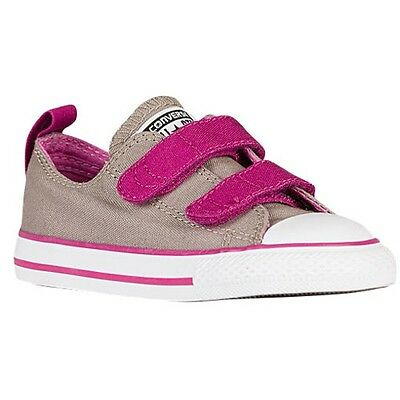 Girl's Toddler CONVERSE ALL STAR 750036F Khaki/Pinks Sneakers Shoes New