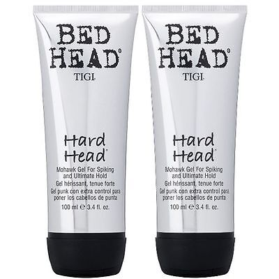 Tigi Bed Head Hard Head Mohawk Gel 2 x 100 ml