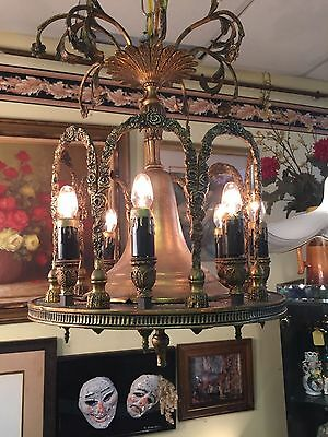Antique Vintage Empire  Chandelier