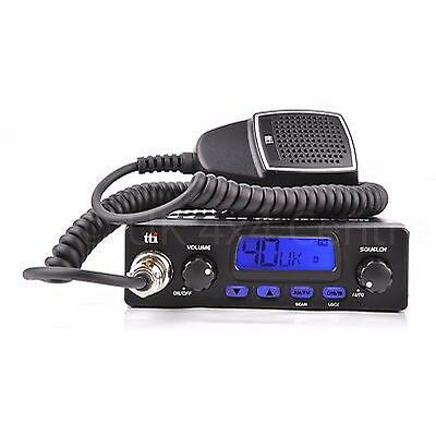 TTI TCB-550N compact MULTI STANDARD CB Radio  UK MODEL 80 channel UK EU AM FM