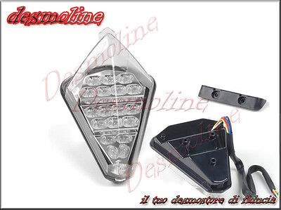 Fanale Posteriore , STOP, FRECCE, LED CLEAR, Yamaha YZF R1 2007 2008
