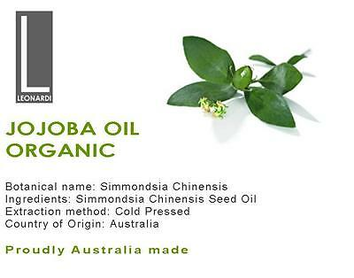 Jojoba Oil 100% Pure Natural Oil Organic Virgin 100Ml