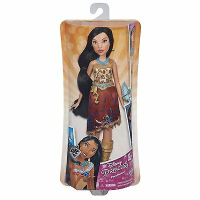 New Hasbro Disney Princess Royal Shimmer Pocahontas Doll B5828