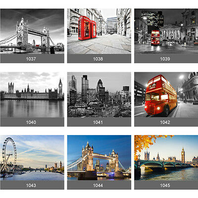 London Wall Mural Photo Wallpaper Picture Self Adhesive Living Room Bedroom