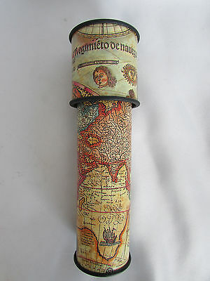 kaleidoscope Map Old World Toyland Colorful Toy Game Adventure Travel Science