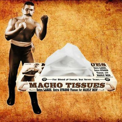 Macho Tissues For Real Men