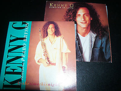 Kenny G Forever In Love / By The Time This Night Is Over Aust CD Singles