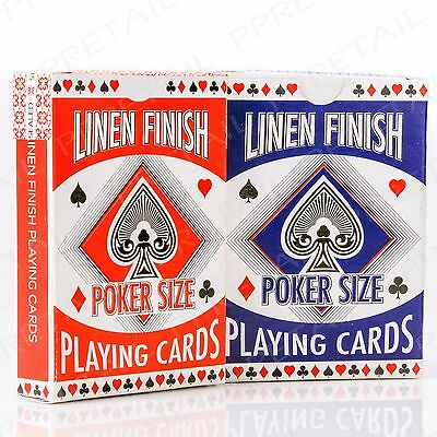 2 PACKS High Quality Poker Playing Cards FULL 52 CARD DECK Classic Game Casino