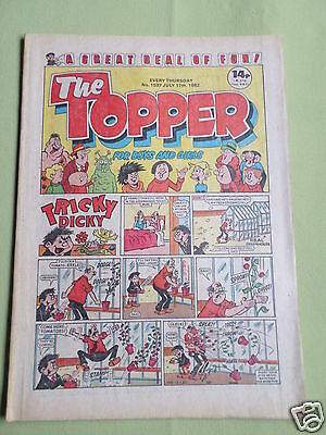 The Topper - Uk Comic - 17 July 1982   - #1537 -Vg