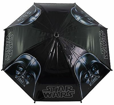 Children Kids Star Wars Black Darth Vader Bubble Umbrella