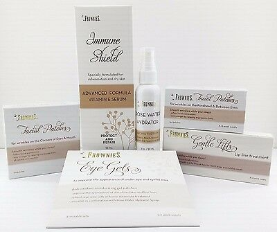 FROWNIES Facial Patches for Wrinkles & Skin Care (you choose) Free Ship US G...d