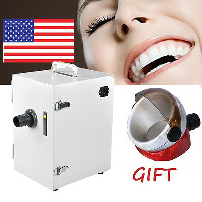 Dental Lab Digital Single-Row Dust Collector Vacuum Cleaner 370W  2017 NEWEST