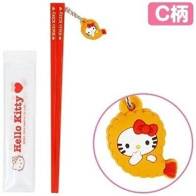 Sanrio Hello Kitty Chopsticks Shape Ball Pen- A (Black) Registered Shipping