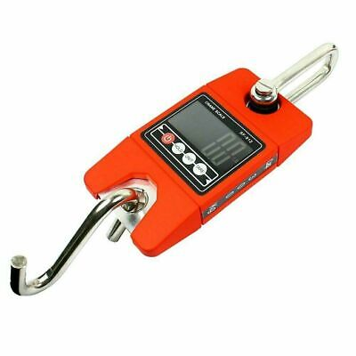 Digital Hanging Scale 300 KG / 660 LBS Industrial Crane Scale SF-912 Red