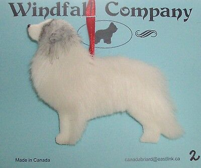 Colored Great Pyrenees Pyr Dog Soft Plush Christmas Canine Ornament # 2 by WC