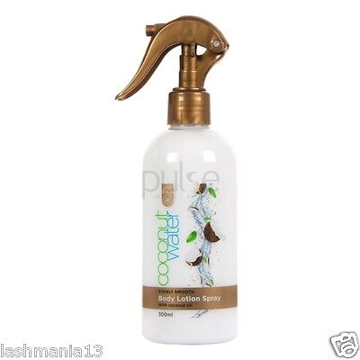 Just Coco Coconut Water Visibly Smooth Body Lotion Spray With Coconut Oil 300ml