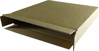 """100x LP Shipping Mailing Boxes for 1-15 Vinyl 12"""" Records"""