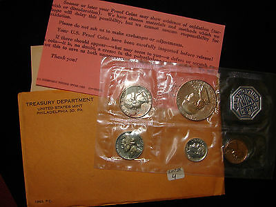 1963 U.S. Mint Proof Set with OGP.