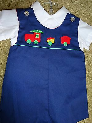 Vintage Boys Outfit Size 12 month  REDRESS A DOLL
