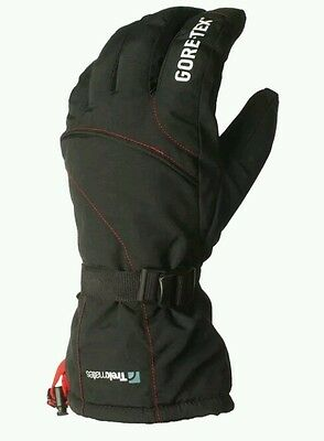 Trekmates Women's Protek Goretex Waterproof Winter Gloves Black/White Large