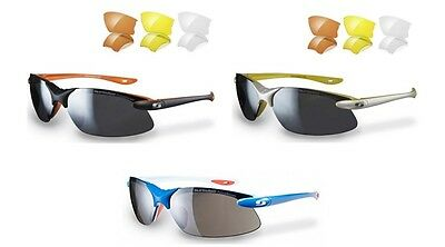 Sunwise Windrush Golf/cycling/cricket/triathlon Sunglasses (4 Lenses)