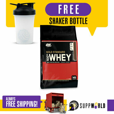 Optimum Nutrition Gold Standard 100% Whey 10Lbs Protein Isolate On Free Shipping