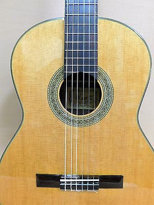 Blast CG-16 Classical Guitar Solid Body Solid Top + HARD Case + Strings