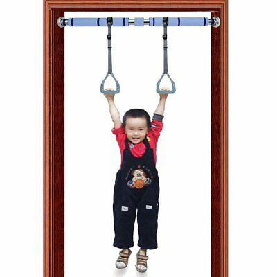 Child Kids Gymnastics Sports Rings Exercise arm strength with Horizontal Bar