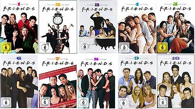 Friends - komplette Serie - DVD Set - Season 1+2+3+4+5+6+7+8+9+10 (1-10)- NEU