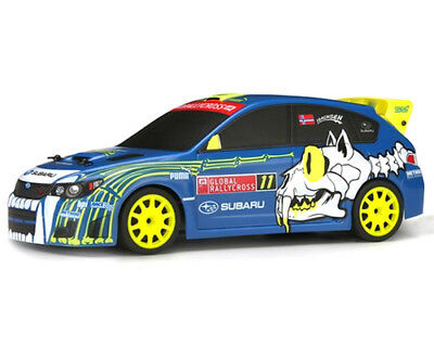 Micro RS4 Sverre Isachse Subaru WRX 4WD 1:18 2,4 GHz RTR HP112466 - hpi modellis