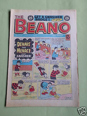 The Beano  - Uk Comic -  21 April 1984 - # 2179 - Vg