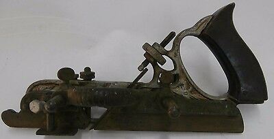 Antique Stanley No 45 Hand Combination Plane Planer B Woodworking Tool FREE SHIP